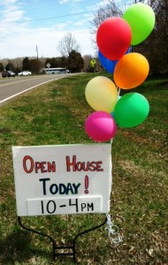 COH Open House sign