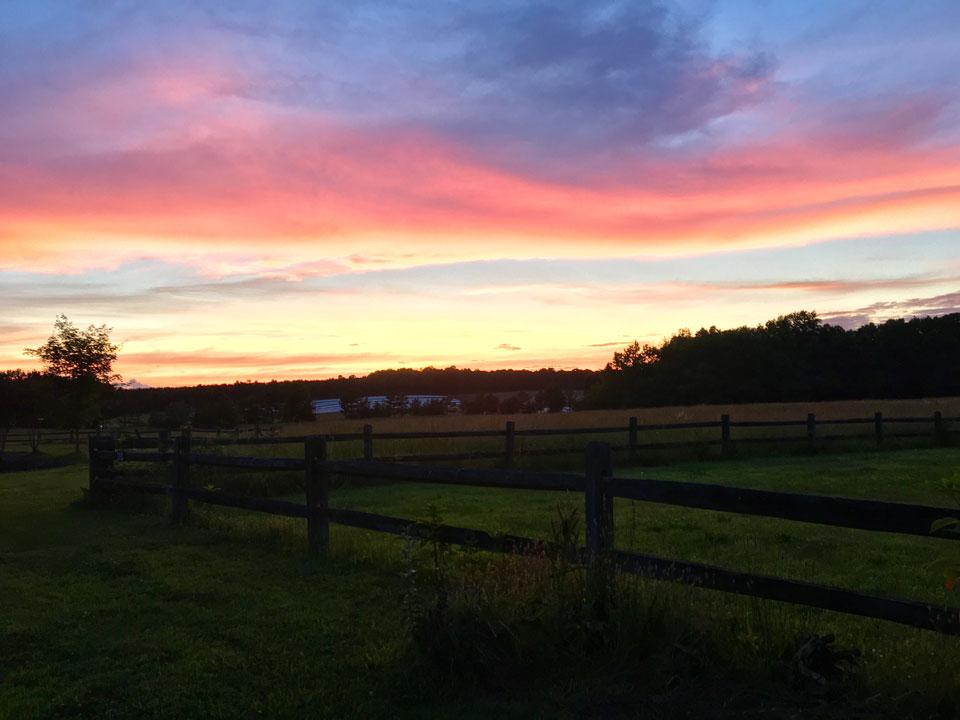 Camp Oak Hill Sunset