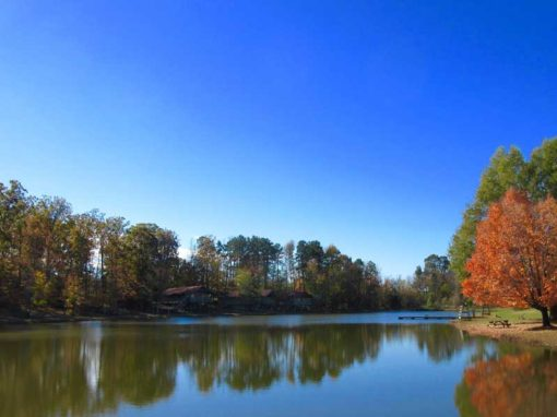 Camp Oak Hill Autumn Lakeside Cabins