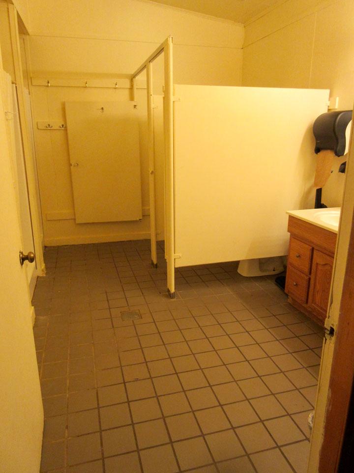 Camp Oak Hill Legacy Bathroom