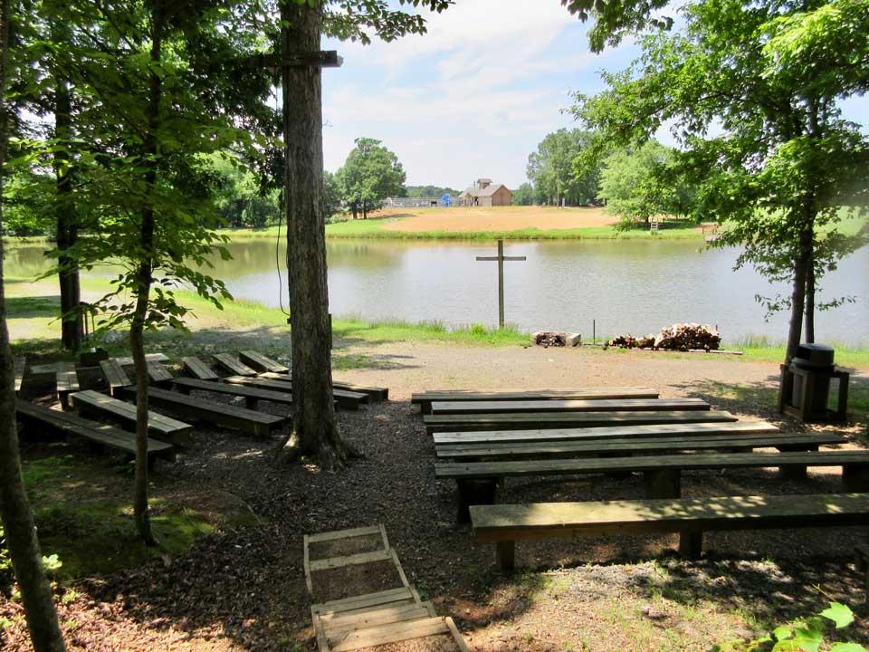 Camp Oak Hill Campfire Area 1