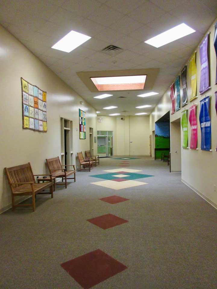 Camp Oak Hill Conference Center Hallway 1