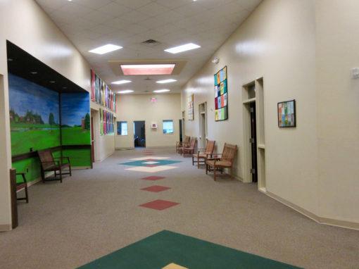 Camp Oak Hill Conference Center Hallway 2