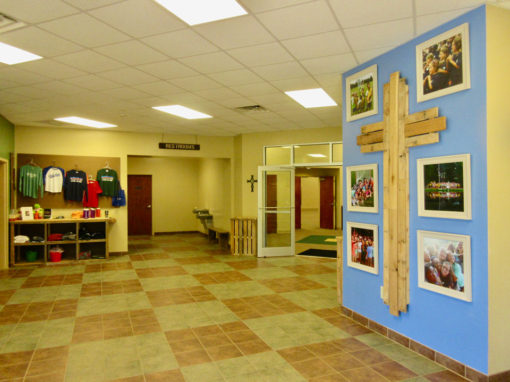 Camp Oak Hill Conference Center Lobby