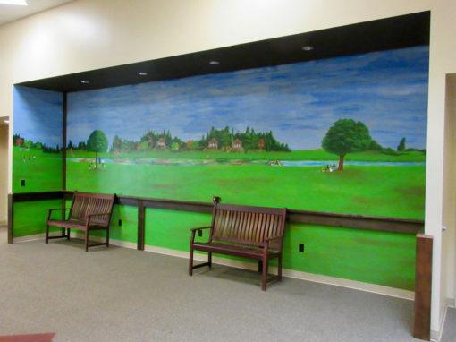 Camp Oak Hill Conference Center Mural