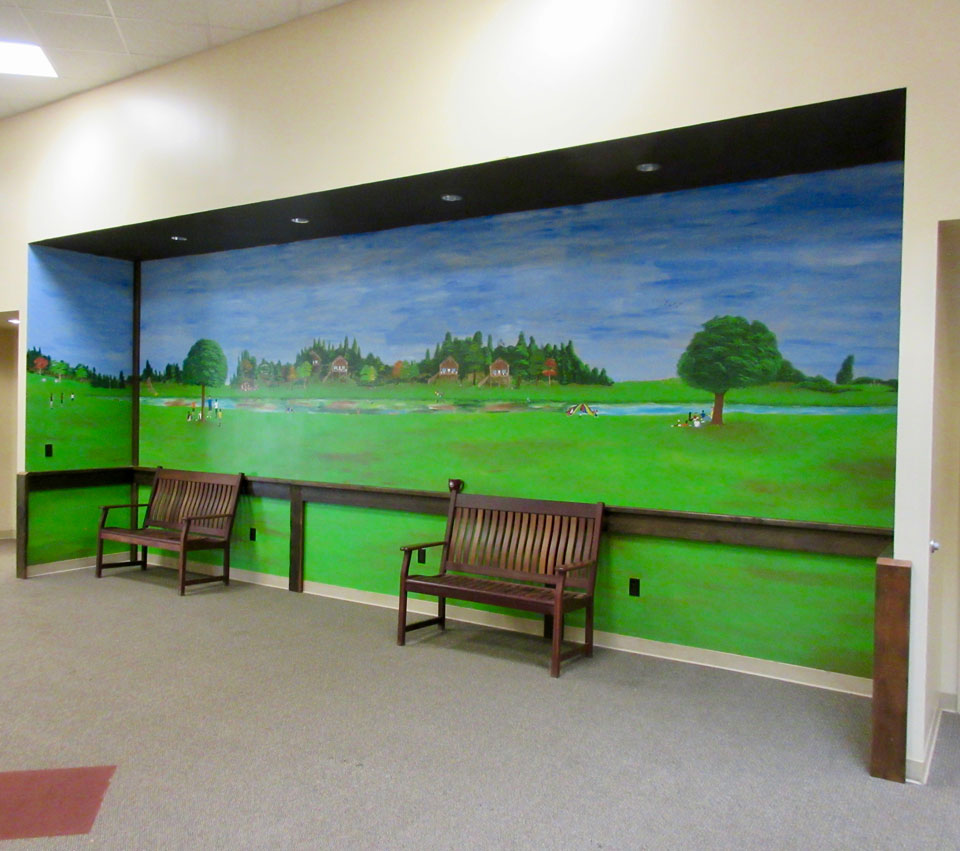 Camp Oak Hill Conference Center Mural
