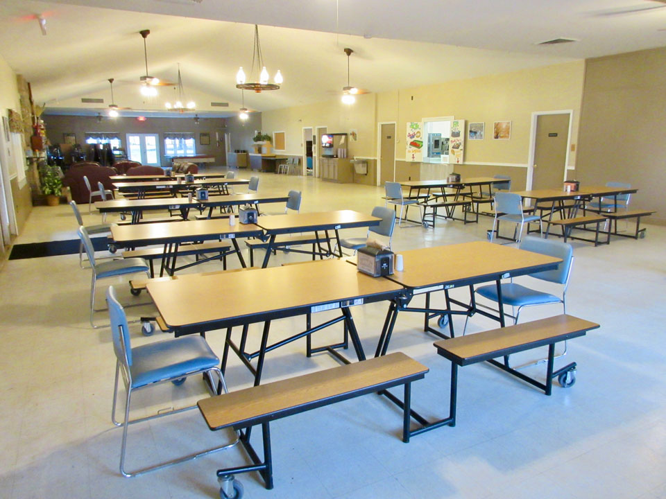 Camp Oak Hill Conference Center Dining Hall