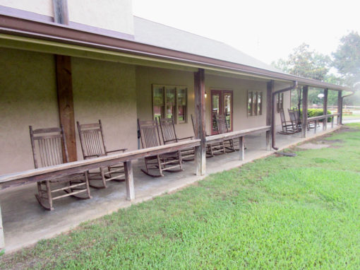 Camp Oak Hill Conference Center Dining Hall Porch