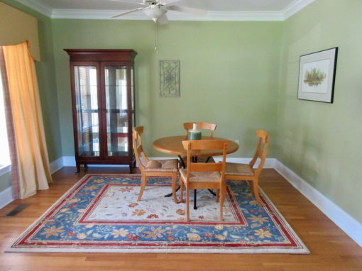 Camp Oak Hill Guest House Dining Room