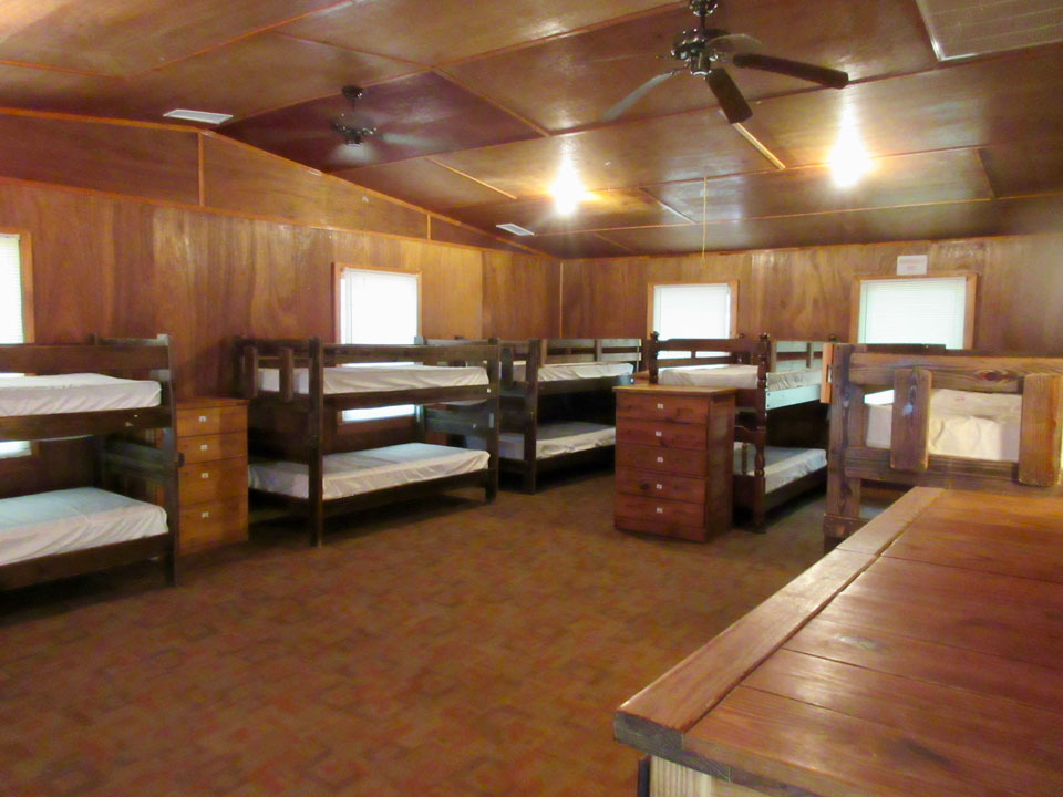 Camp Oak Hill Legacy Cabin Interior