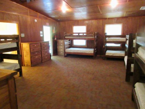 Camp Oak Hill Legacy Cabin Interior 2