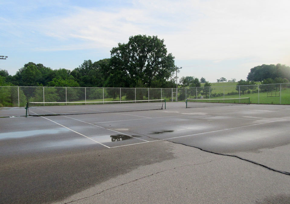 Camp Oak Hill Tennis Courts