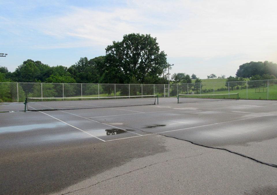 Camp Oak Hill Tennis Courts